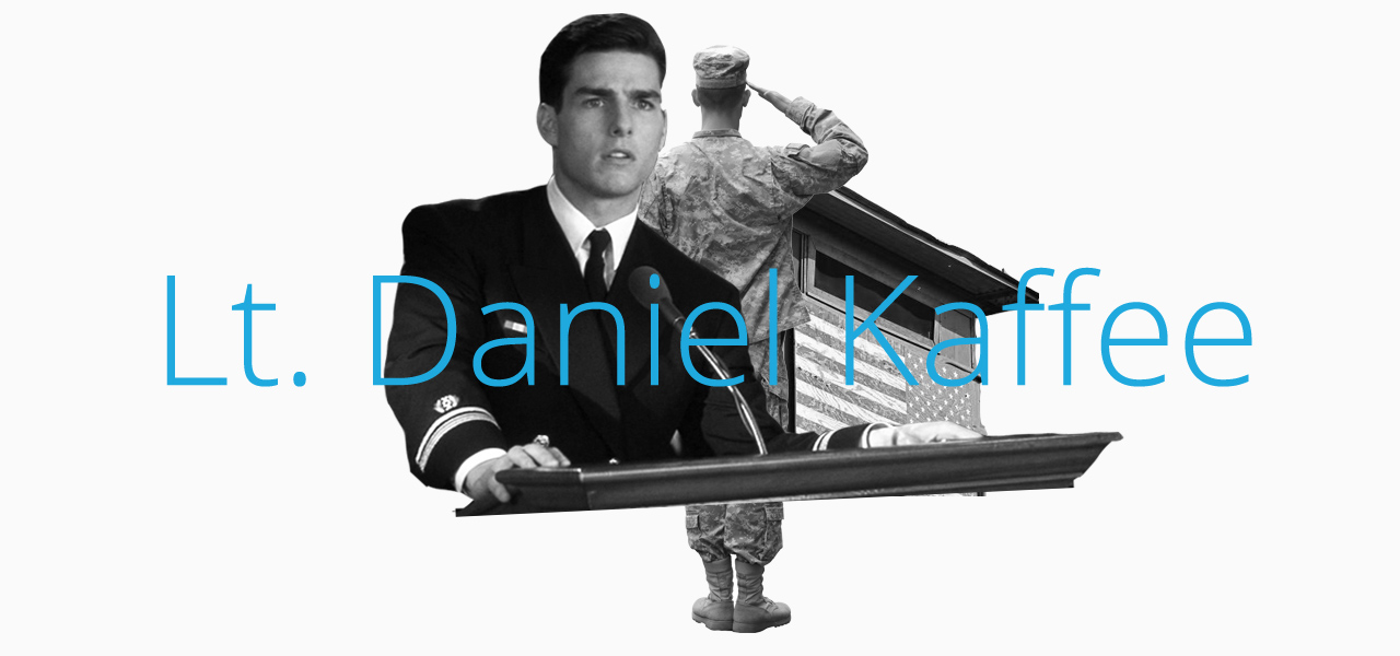 Daniel Kaffee is one the the Best Movie Lawyers of All Time