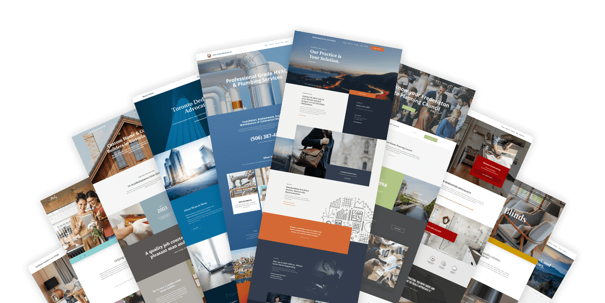 find the best designs for your small business website