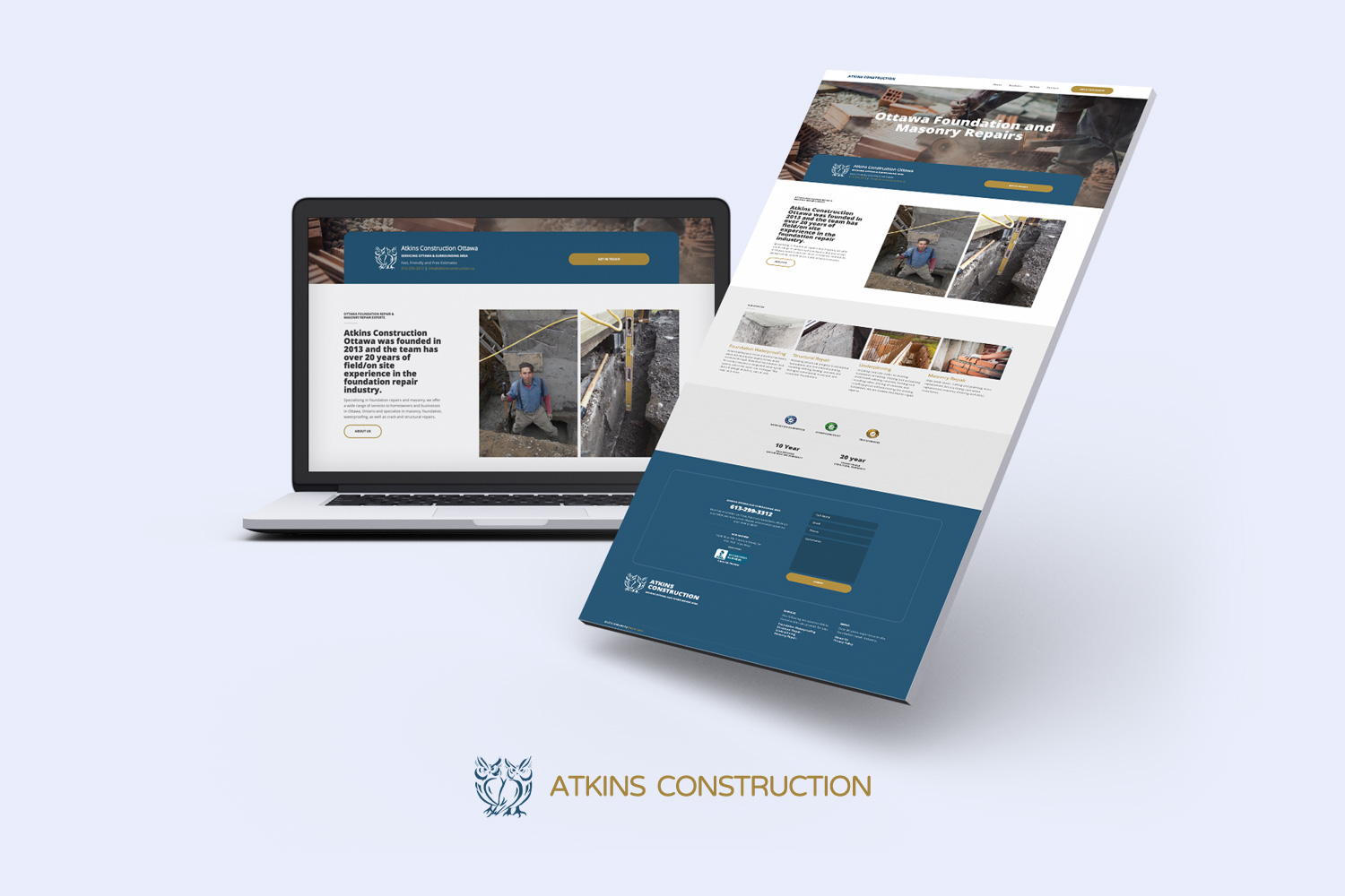 Get a better construction or trade related website design