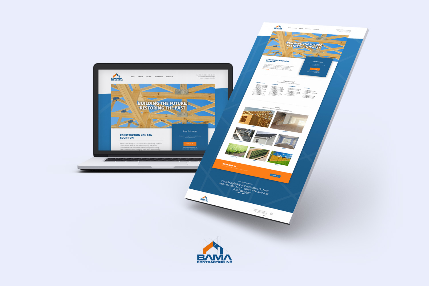 Hire the best contractor website designers in Canada