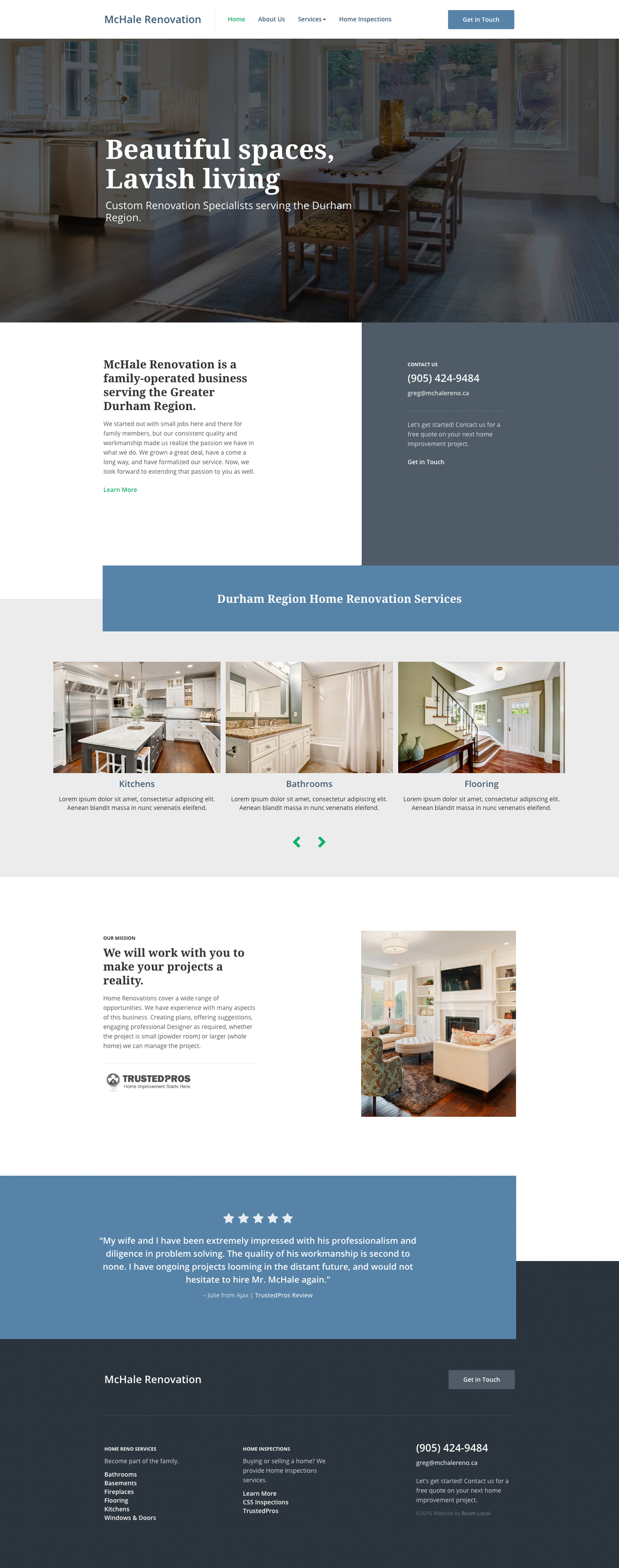Are these the 10 Best Contractor Website Designs for 2016?