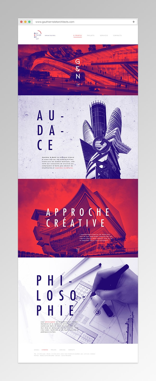 best architect website