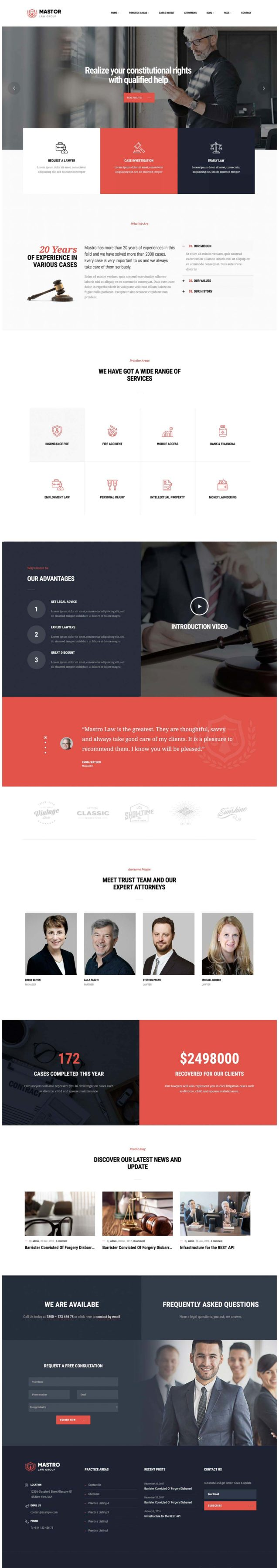 Are these the best lawyer WordPress themes for 2018? - Beam Local