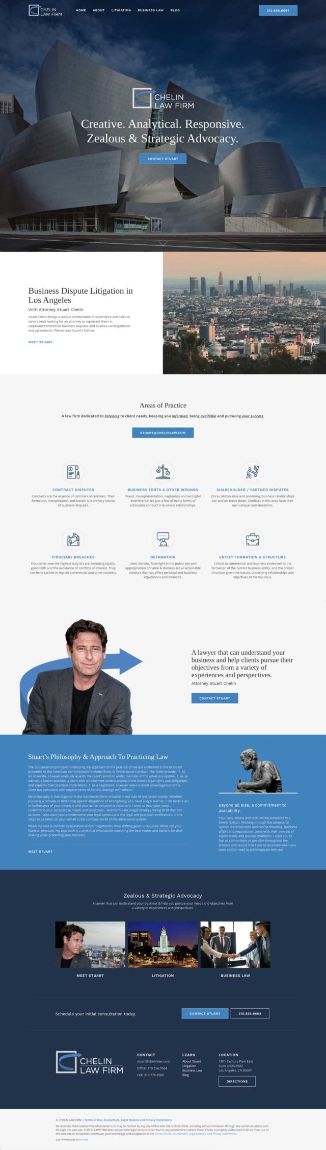 The Best Lawyer Website Designs for 2019 | Beam Local