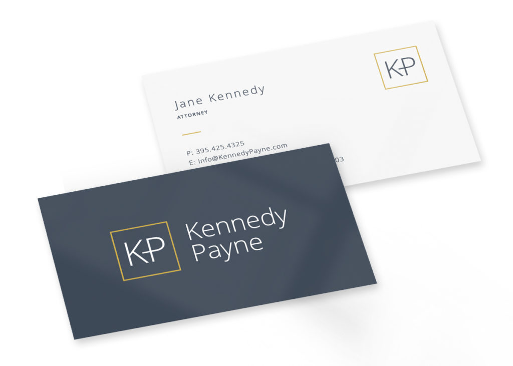 top business card design for attorneys