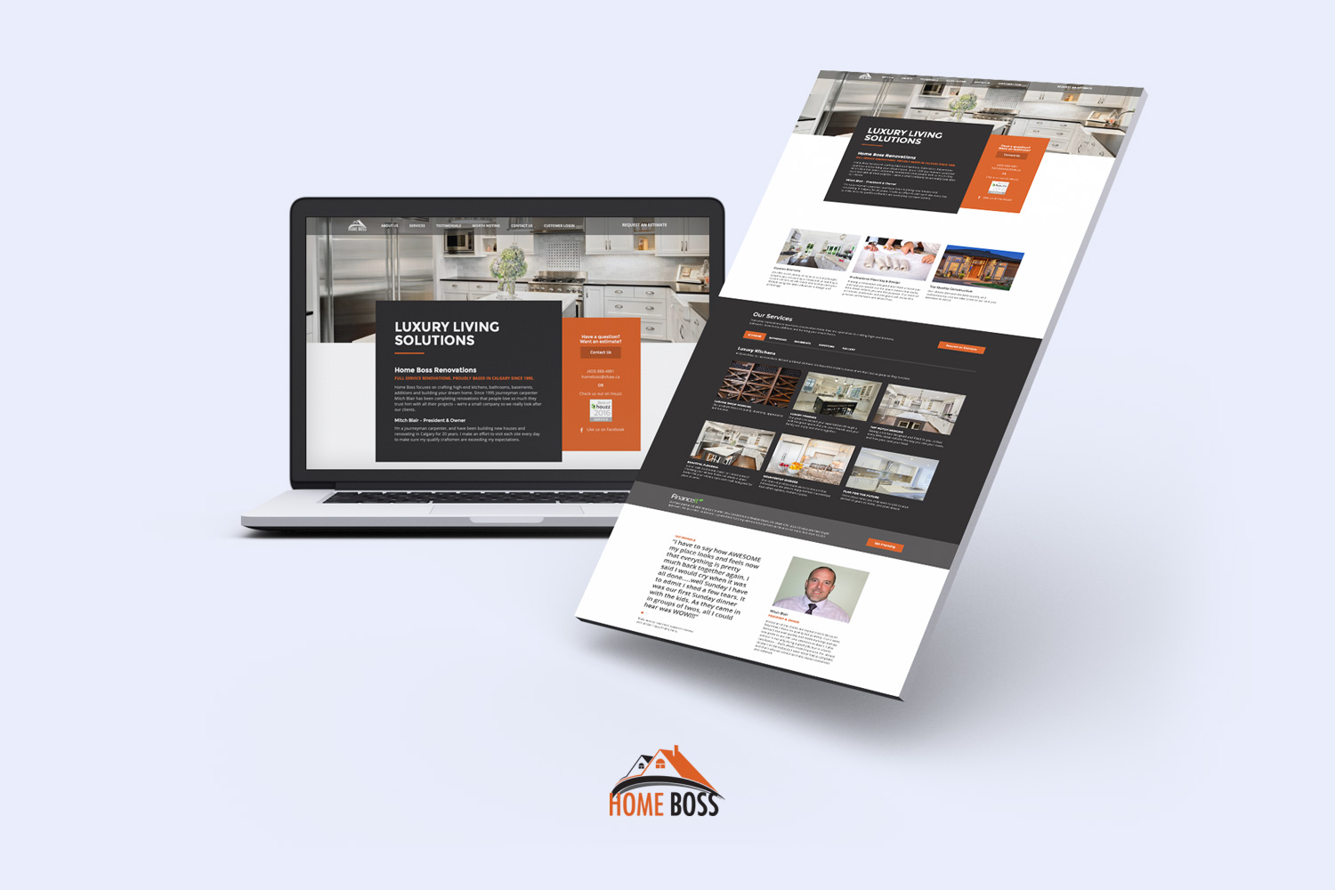 Better websites email hosting and support for home builders