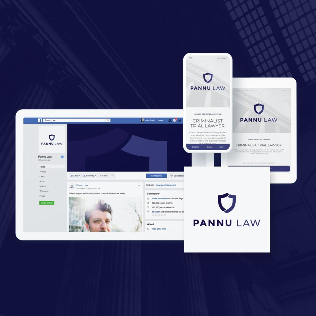 custom website, branding and logo design