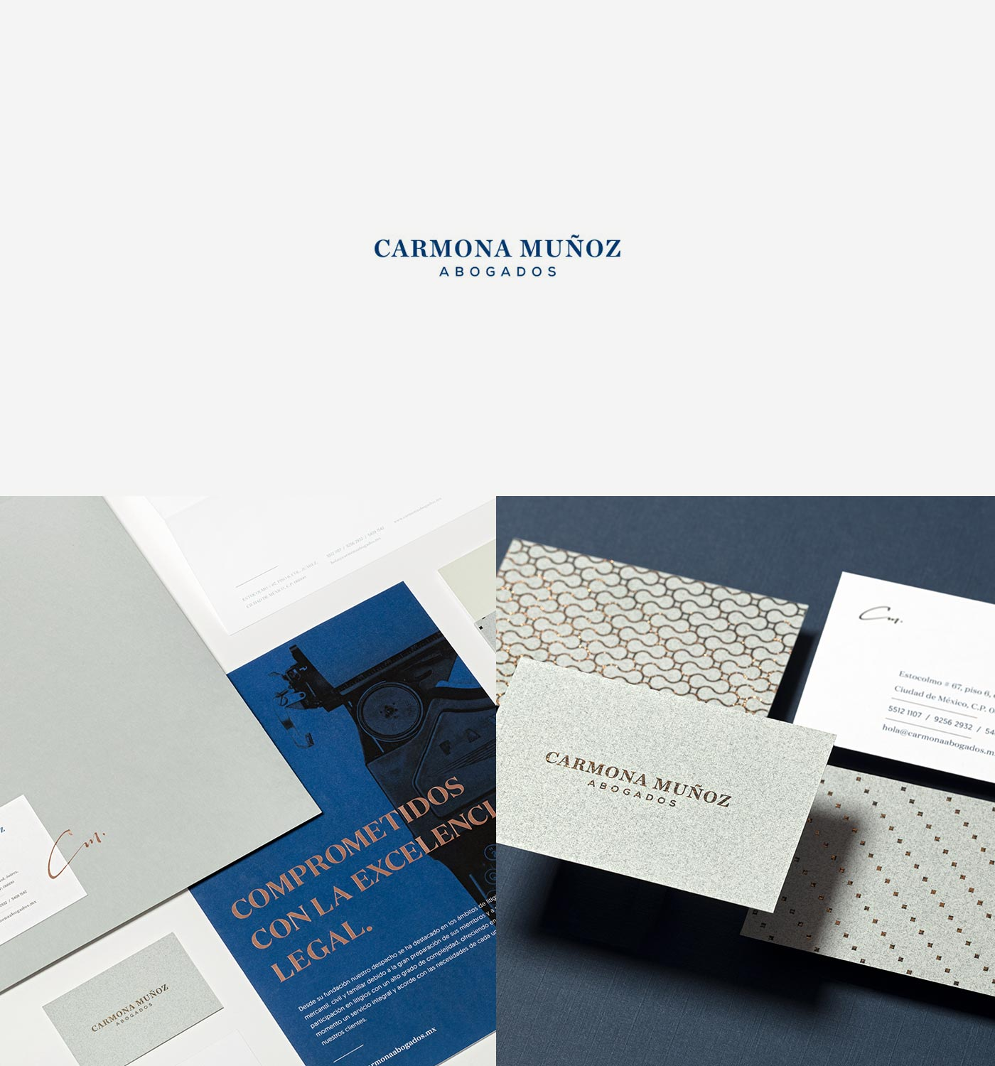 Carmona Muñoz Designed by The Branding People