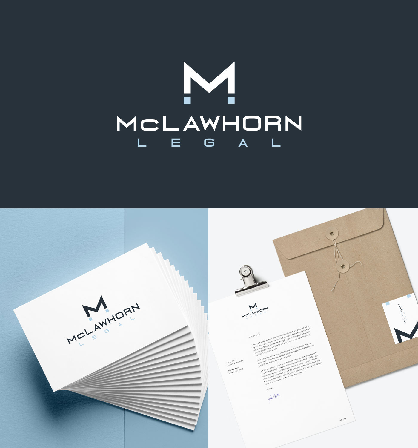 McLawhorn Legal Designed by Beam Local