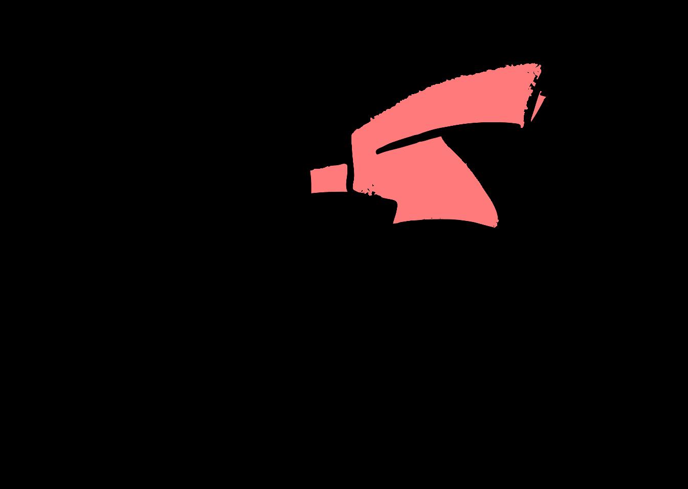 illustration of woman jumping